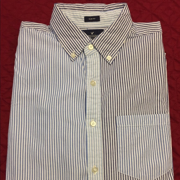 0dd65e0ee American Eagle Outfitters Shirts | American Eagle Mens Button Down ...